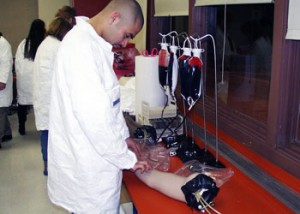 Phlebotomy certification course